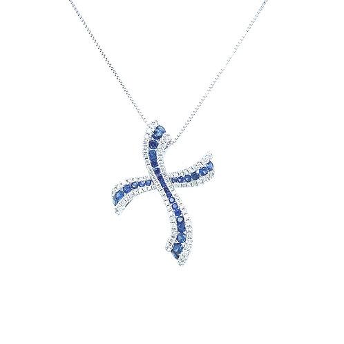 Swing Cross Necklace