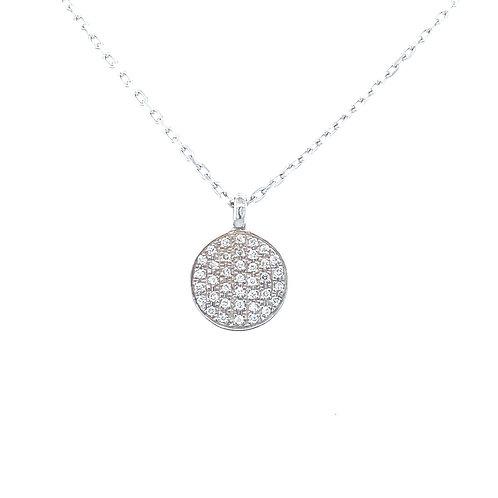 Diamond Plate Necklace