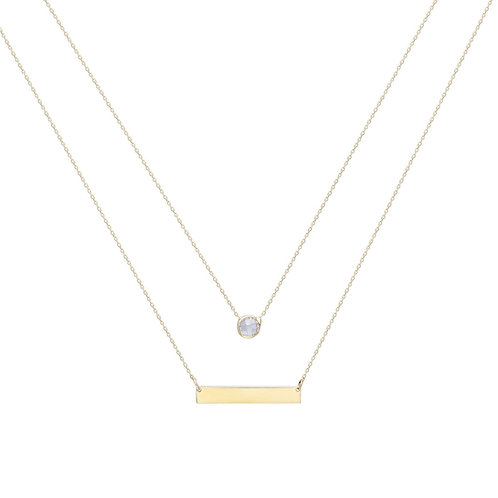 Combine Gold Halskette