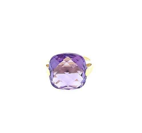 Catch Amethyst Ring