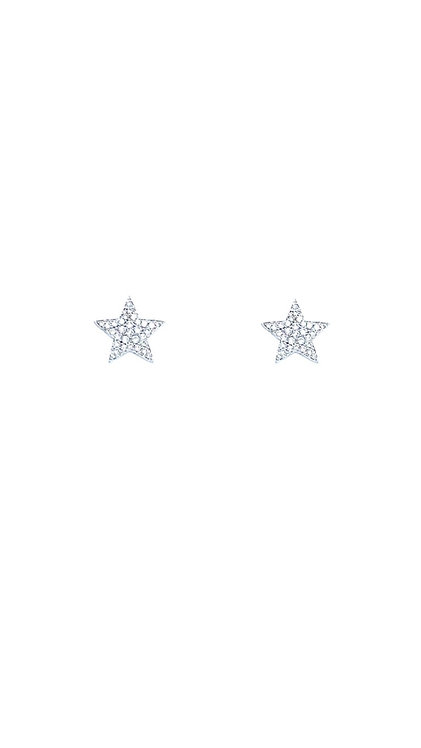 Pave Stars Ohrstecker