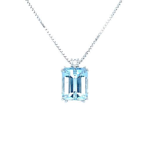 Aqua Love Necklace
