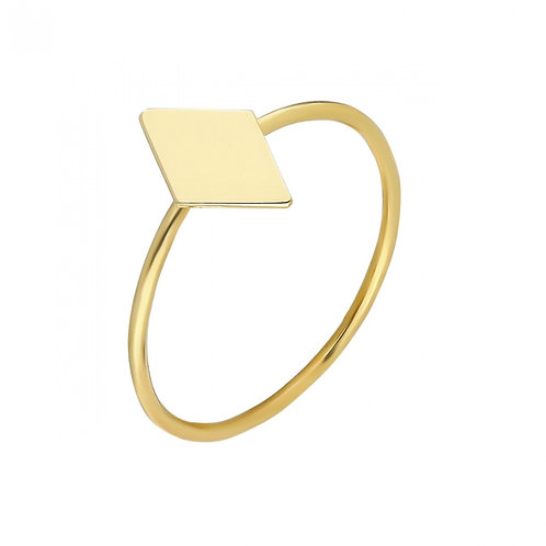 Ring Gold Geometric