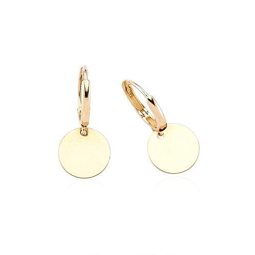 Gold plate Hoop Earrings