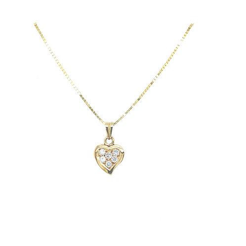 Heart Swing Halskette