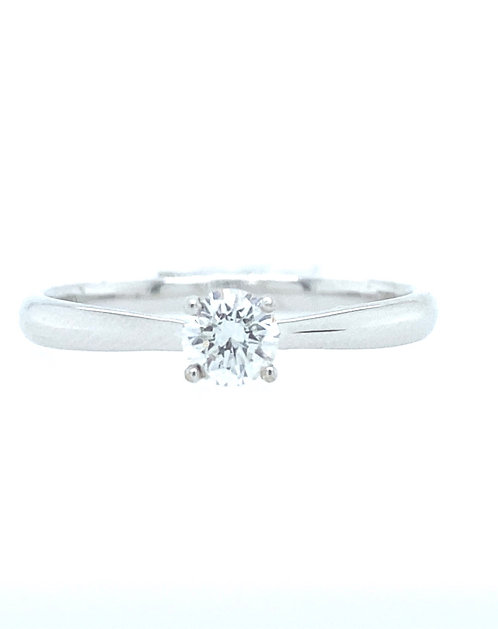 Solitaire Love Ring
