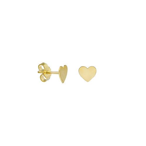 Gold Heart Ohrstecker