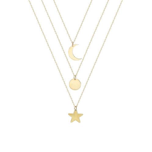 Gold Sky Necklace