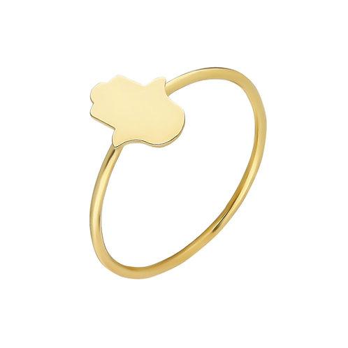 Gold Fatima Ring