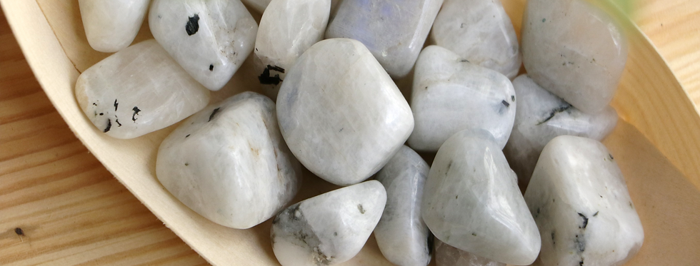 Pedra da Lua Rolada 2 a 3 cm