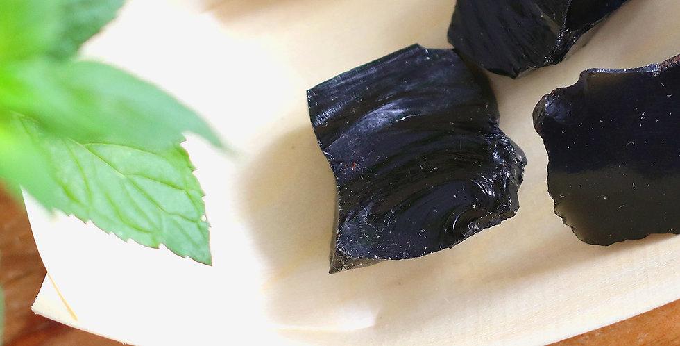 Obsidiana Negra em Bruto 2 a 4 cm