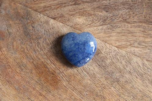 Coração de Quartzo Azul