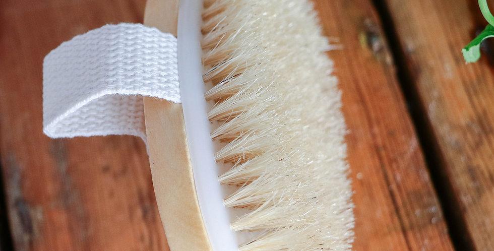 Escova Bambu para Corpo