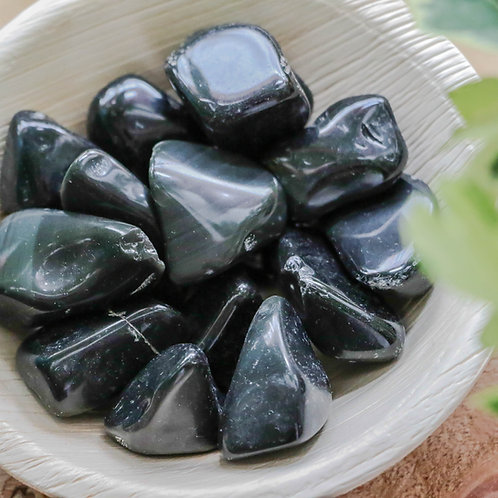 Obsidiana Arco Iris Rolada