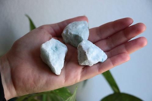 Aragonite Azul em Bruto