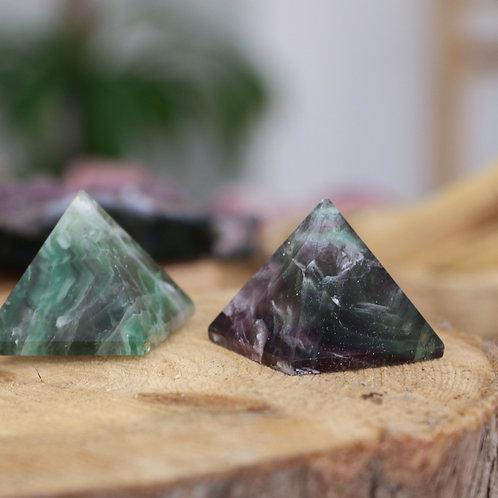 Pirâmide de Fluorite