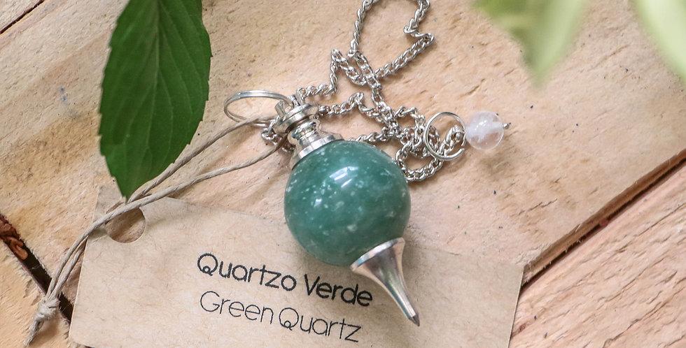 Pêndulo de Aventurina Verde Spherotron