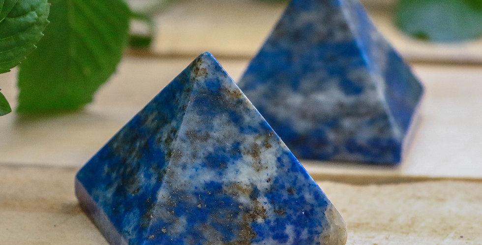 Pirâmide de Lápis Lazuilli 3 cm