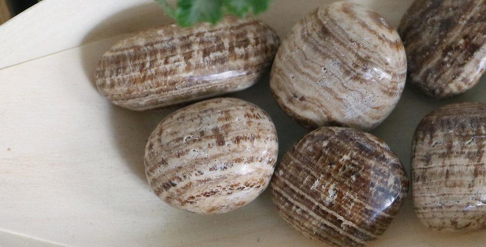 Aragonite Rolada 2 a 4 cm