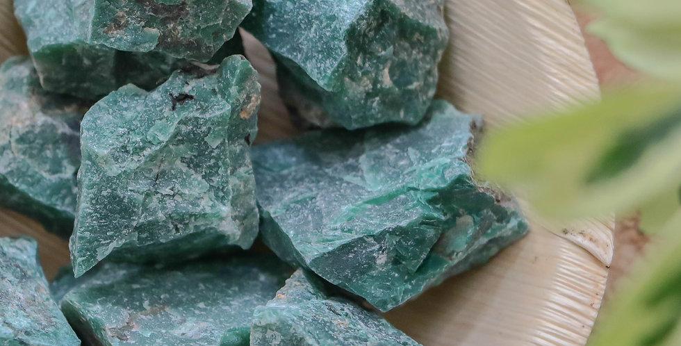 Jade Nefrite em Bruto 3 a 6 cm