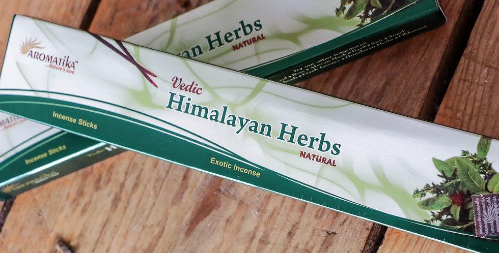 Incenso Hymalayan Herbs Aromatika 15g