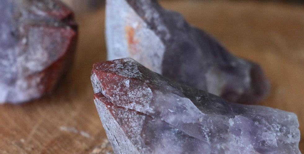 Ponta de Auralite em Bruto 5 a 8 cm