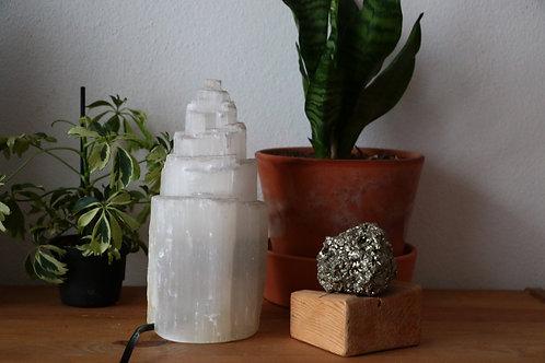 Candeeiro Selenite 20 a 22 cm