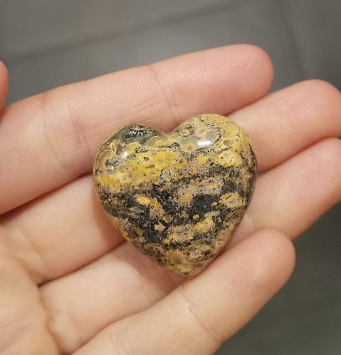 Coração de Jaspe Abelha (Bumblebee)