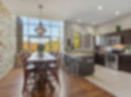Real Estate Photography kitchen and dinning room of townhouse
