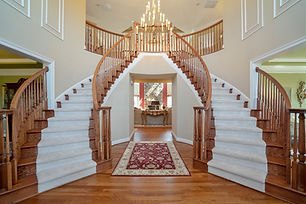 Real Estate Photography entry way with stairs