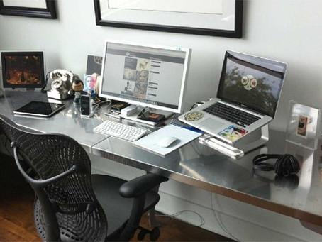 Cinco dicas para aplicar no home office em tempos de isolamento social