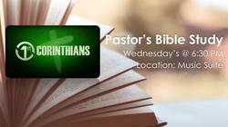 pastor bible study 1 cor