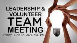 leadership team meeting _2021 Summer