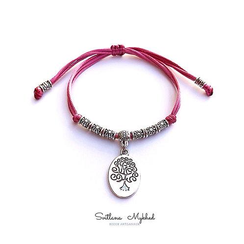 Bracelet ARBRE DE VIE GÉNÉALOGIE. FAILLE. LOVE