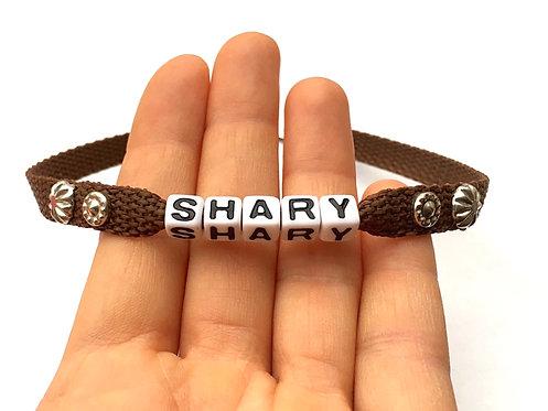 collier bijou personnalisable pour chat chien avec message surnom prénom SHARY