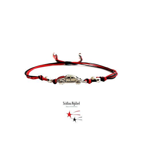 Bracelet personnalisé AUTOMOBILE VOITURE CAR RETRO bijoux garçon homme sur mesure