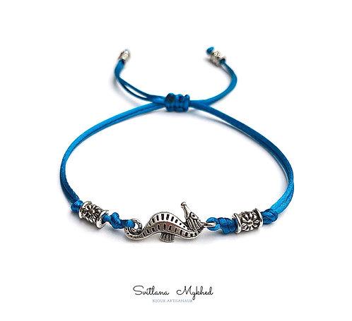 Bracelet personnalisé CHEVAL DE MER. HPPOCAMPE.. MARIN.
