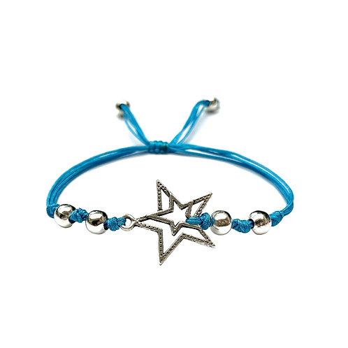 Bracelet homme garcon admirateurs de cosmos, astronomes STAR ESPACE. DEUX ÉTOILES. COSMONAUTE. ASTRONAUTE