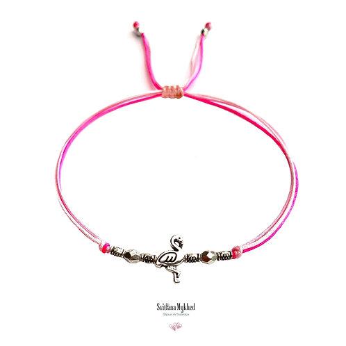Bracelet personnalisé FLAMINGO ROSE