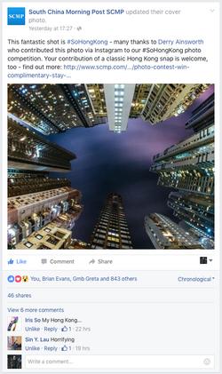SCMP Facebook