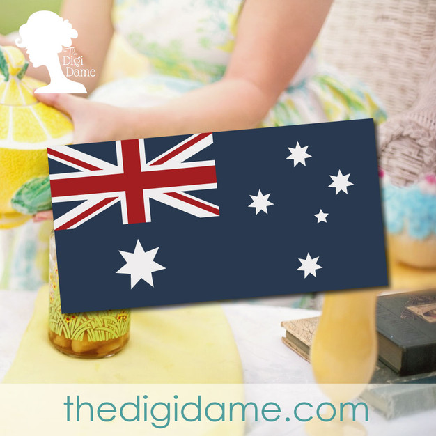 FREE Australia Day Party Printable by The Digi Dame