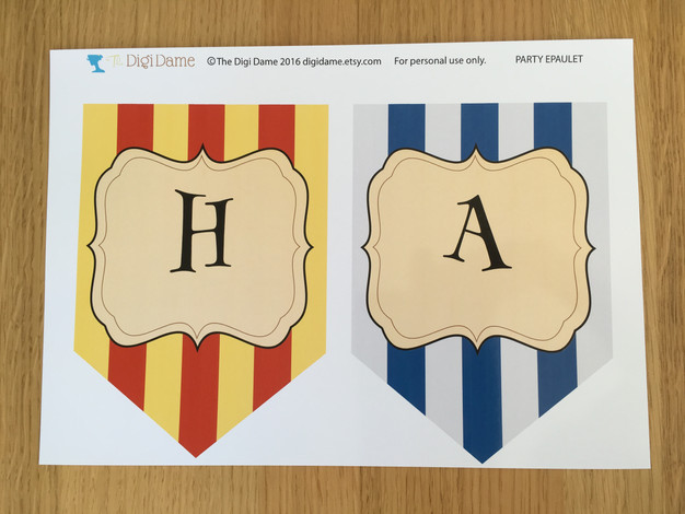 Harry Potter Party Printables