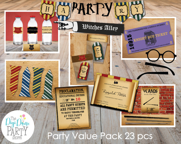 Magic Wizard Party Printables