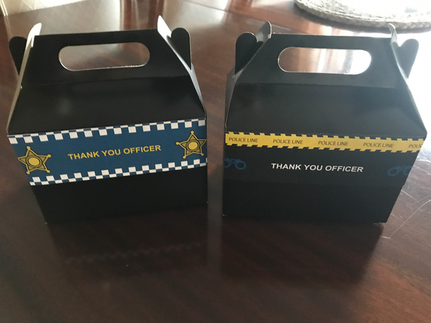 police party printables