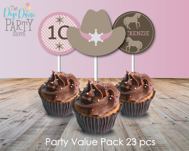 Pony Club Party Printables Pack by The Digi Dame