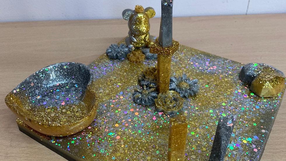 Resin art Jewellery holder