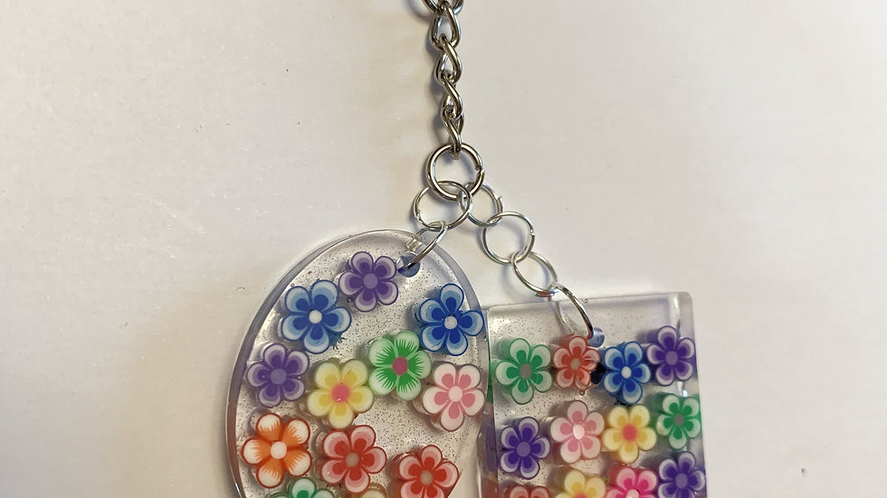 Kids Flower keyring