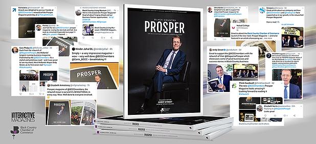 PROSPER Magazine _ Social Media Feedback