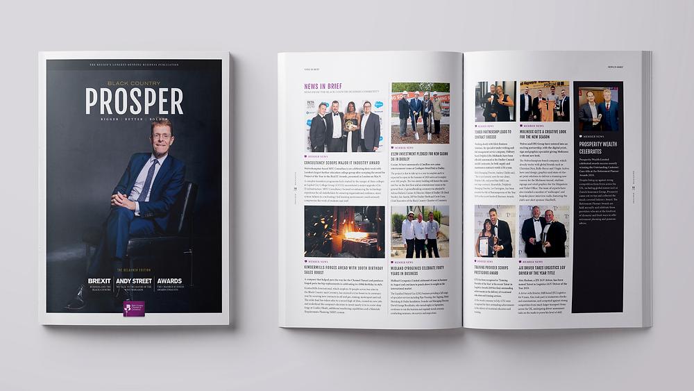 Member News | PROSPER Magazine | Autumn 2019