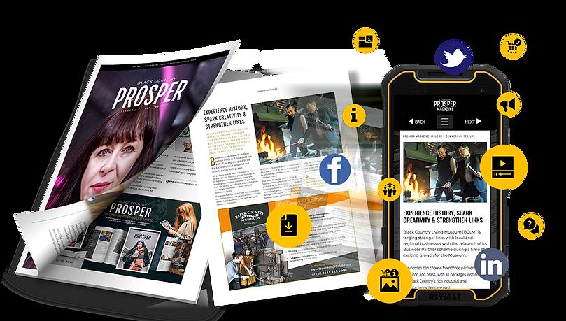 PROSPER Magazine Online Features